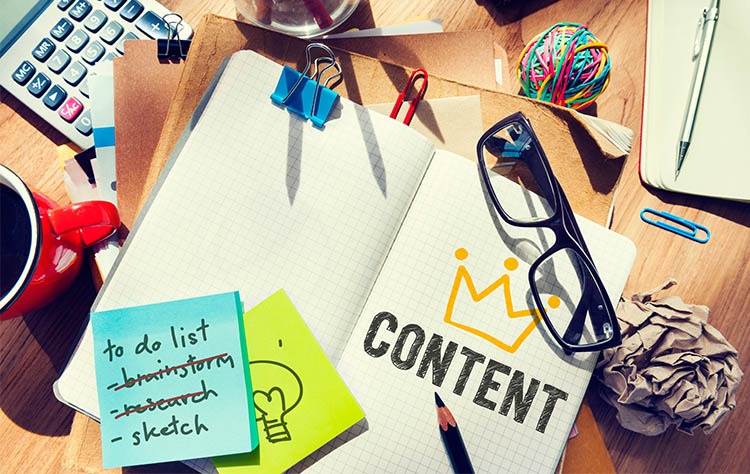 Types of content to include in your marketing strategy in 2021